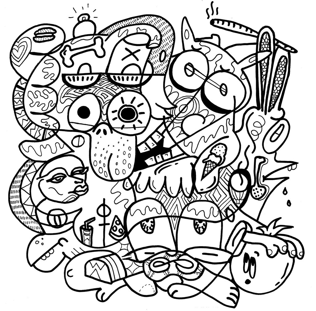 an error occurred - Trippy Coloring Books