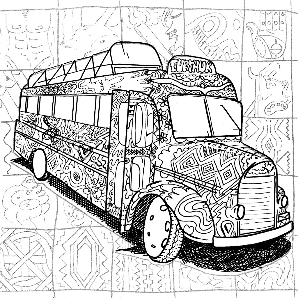 Art By Kalen Blackurn Want To Carry Stoners Coloring Book